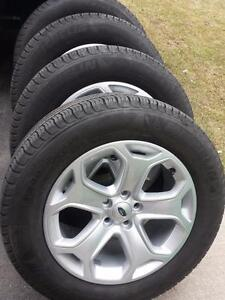 BRAND NEW TAKE OFF FORD EDGE 18 INCH ALLOYWHEELS WITH MICHELIN HIGH PERFORMANCE ' H ' RATED245 / 60 / 18 ALL SEASONS