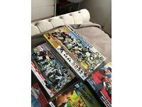 9 boys Christmas toys transformers kreo sets , games ,Jurassic world , angry birds toys all new