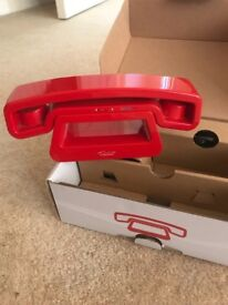 Red swissvoice hands free house phone