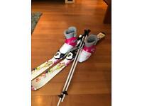 Girls ski bundle