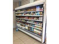 Shelfs and fridges