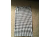 Topshop size 10 mid-long skirt
