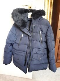 Zara girl winter padded jacket 11-12 years