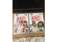 DVDs - Absolutely Fabulous Series 1 & 2