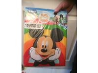 Mickey Mouse Single Duvet Set - Brand New