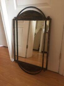 Gold/Brown Mirror
