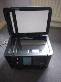 Epson WorkForce WF-3540DTWF Printer/Scanner plus inks & cables.
