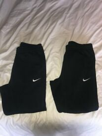 Two Pairs of Nike Joggers/£30/Size SMALL