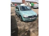 Corsa 1.2 sxi spares or repair may break 5 dr motd till end of July