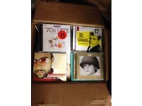 Large Collection of CDs in Original Jewell Cases and Inserts-Most Unplayed and All in Good Condition