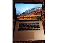 Macbook pro 15 retina i7/ 16gb/ 256GB with Galaxy gear fit 2