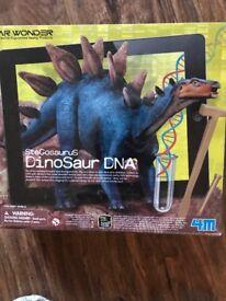 Dinosaur DNA activity kit.