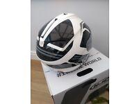 HJC black and white bike helmet XXL, bought for £200, selling for £60, grab a bargain!