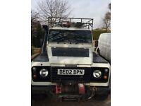 Landrover defender 110 2002 td5 special vehicle