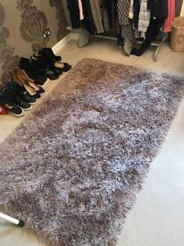 Next Mink colour rug for sale £40 nearly new