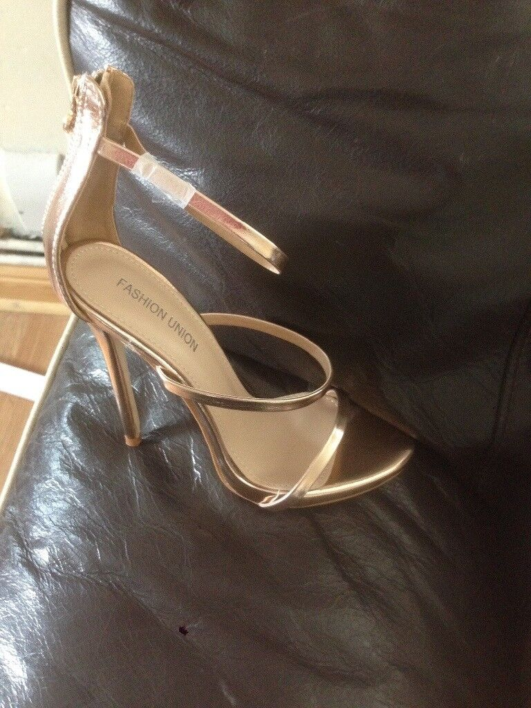 2 Pairs Of High Heel sandals size 4 brand new 2 pairs for £20