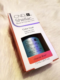 CND Shellac Gel Polish - Glacial Mist @ Color Coat @ New and genuine