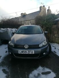 VW GOLF 2.0 TDI, great condition, 66k miles, MOT to August