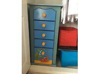 Heather Spencer Ocean scene chest of drawers