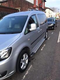 Vw caddy life 7 seater