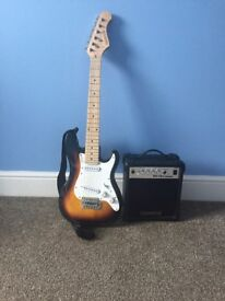 Elevation electric guitar and amplifier