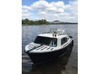 Fair line cabin cruiser for sale 18ft