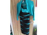 Dress with matching jacket