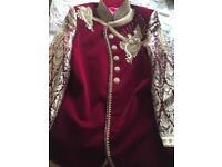 Men's wedding sherwani suit large
