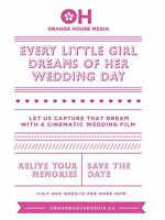 Now is the time to book your Videographer BOOKING 2015 NOW!
