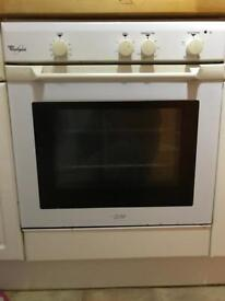 Whitpool fan integrated oven