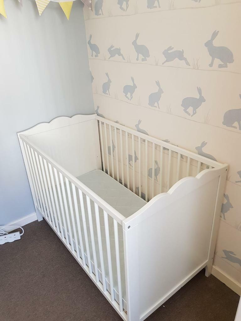 White Ikea Nursery Furniture Set 150 Sold