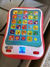 Learning pad for toddlers