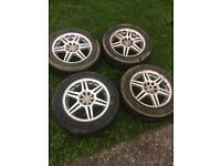 """Multi fit alloy wheels 15"""""""