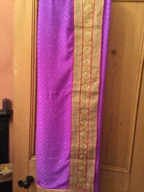 Lilac saree only £17 with blouse