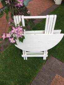 Vintage Wooden Fold up picnic table