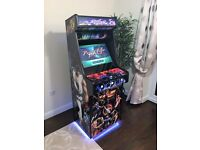 CLASSIC UPRIGHT ARCADE MACHINE /w 645 GAMES