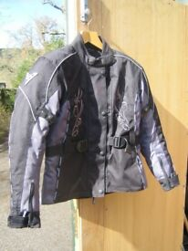 Brand New Ladies Neowell Heroin Motor Bike Jacket Size M