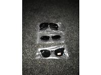 Ray ban and Gucci sunglasses
