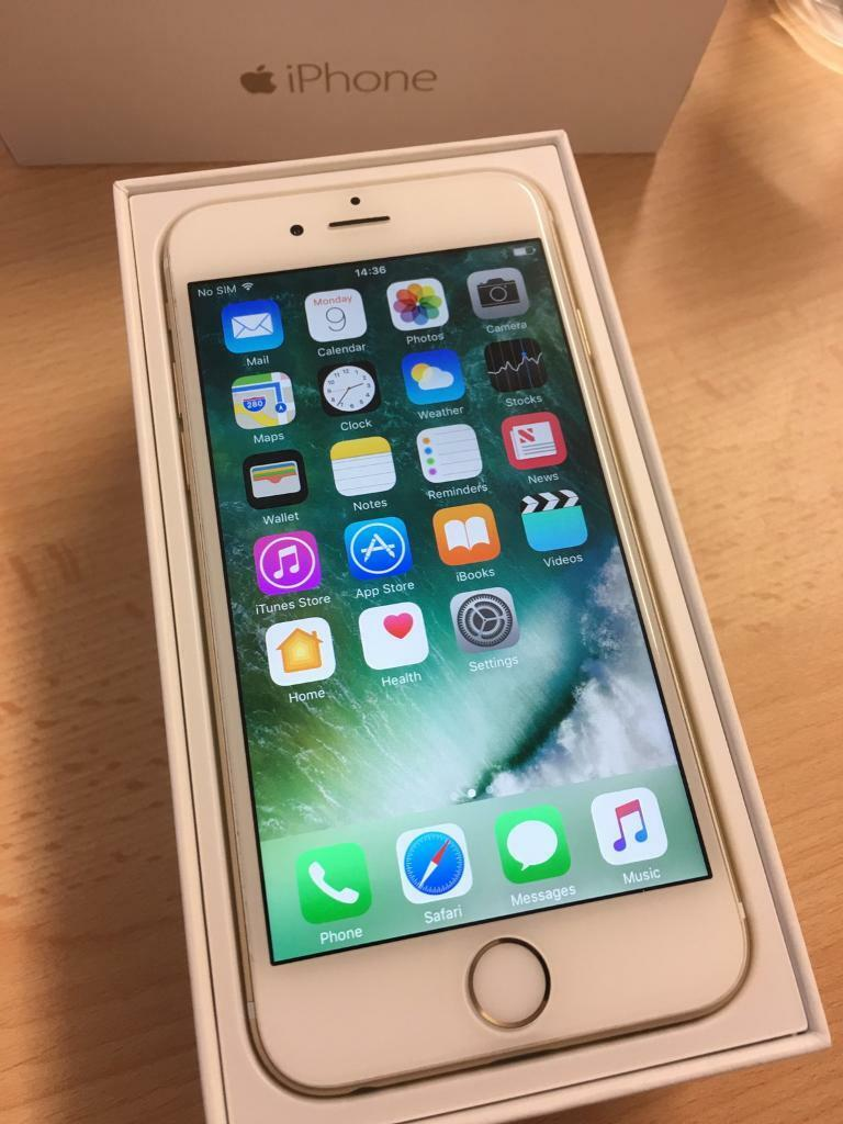 Apple iphone 6 16gb gold o2 giffgaffin Sheldon, West MidlandsGumtree - Apple iphone 6 16gb gold 02 giff gaff Used phone in good condition All working with no issues can be checked before purchase. With box and charger