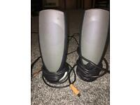 Altec Lansing Subwoofer And Speakers