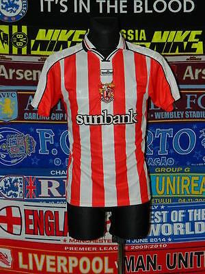 4/5 Stevenage Borough adults XS 2000 rare football shirt jersey trikot image