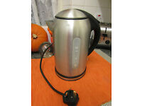 Stylish Homebase Stainless Steel Kettle 1.7Litres RRP £49.00