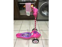 My first minnie activity scooter only £14