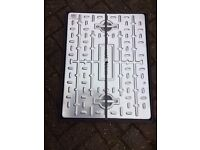600mm x 450mm 5 Tonne Man Hole Manhole Drain Cover and Frame, brand new, galvanised