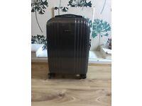 Cabin Size Hard Samsonite Suitcase in Grey