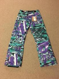 Julien David X Quiksilver County Shell Snow Pants - Brand New