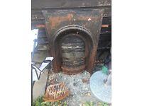 Fireplace - original cast iron fireplace - £45