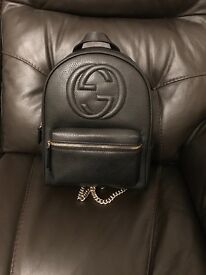 Gucci soho backpack for sale