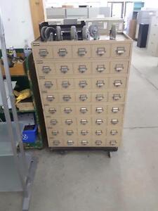 40 unit card file storage