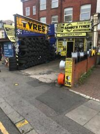 TYRES NEW AND PARTWORN 225 40 18 255-35-18 245-35-19 205-55-16 winter tyres all season tyres 215 55